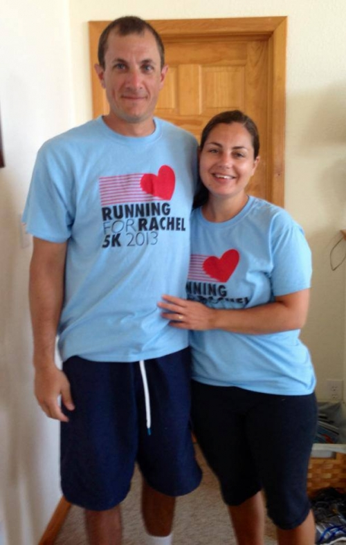 Ryan & Annie Walsh running in the Outer Banks!!