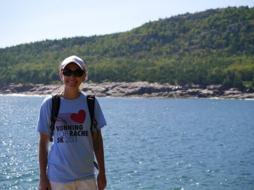 Casey took Rachel on the Great Head Trail that circles Sand Beach in Acadia National Park in Bar Harbor, Maine!!!  Beaut