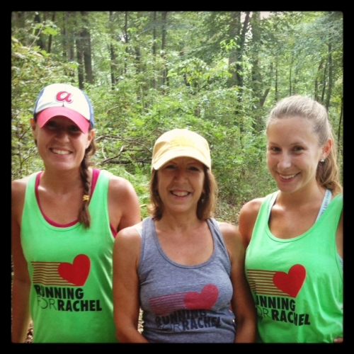 Pretty ladies hiking for Rachel at Governor Dick!!