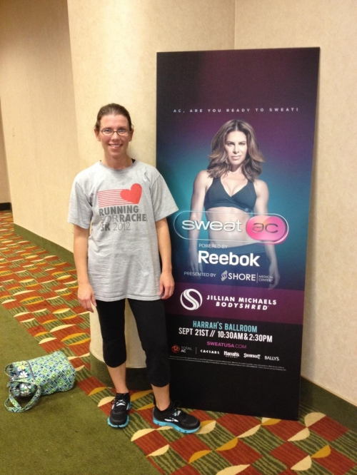 Christine took Rachel to work out with Jillian Michaels!!!